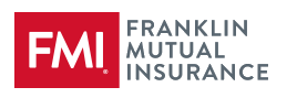 Logo for Franklin Mutual Insurance. Red box that reads FMI